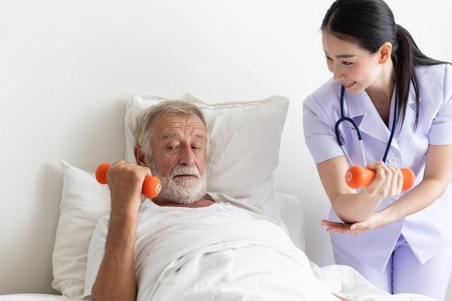 Do you need to be in good shape for a career in nursing