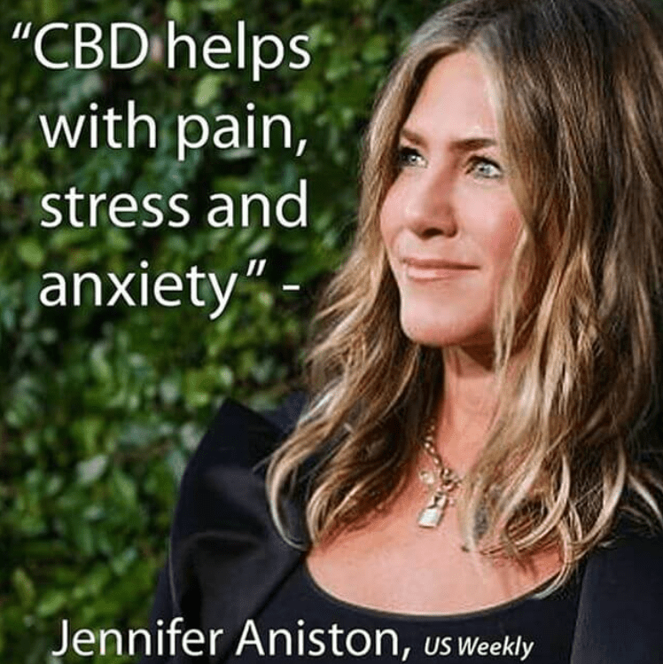 Jennifer Aniston + CBD