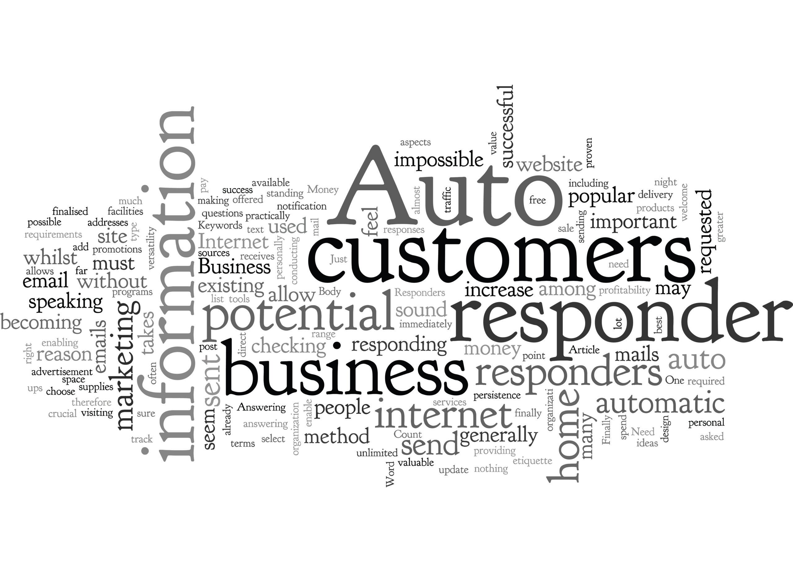 Auto Responder Can Help Your Business Grow