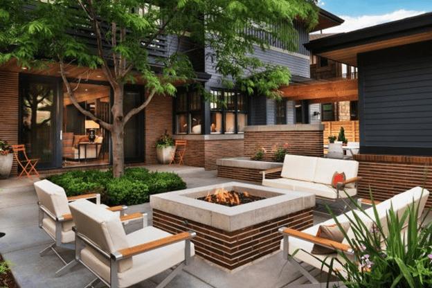 Design garden space
