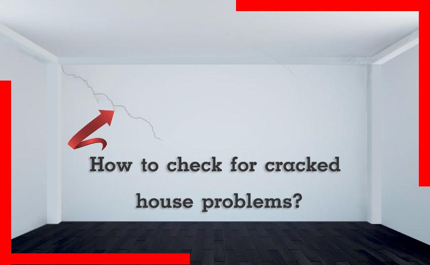 cracked house wall