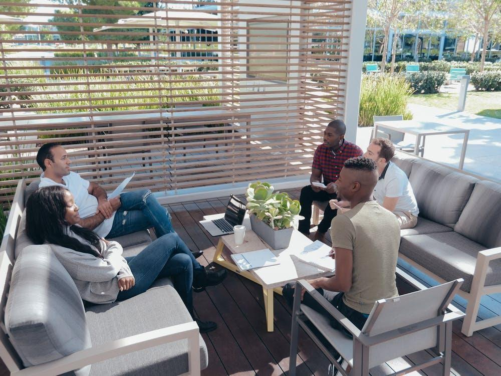 Outdoor Offices Are A Remote Worker's New Sanctuary